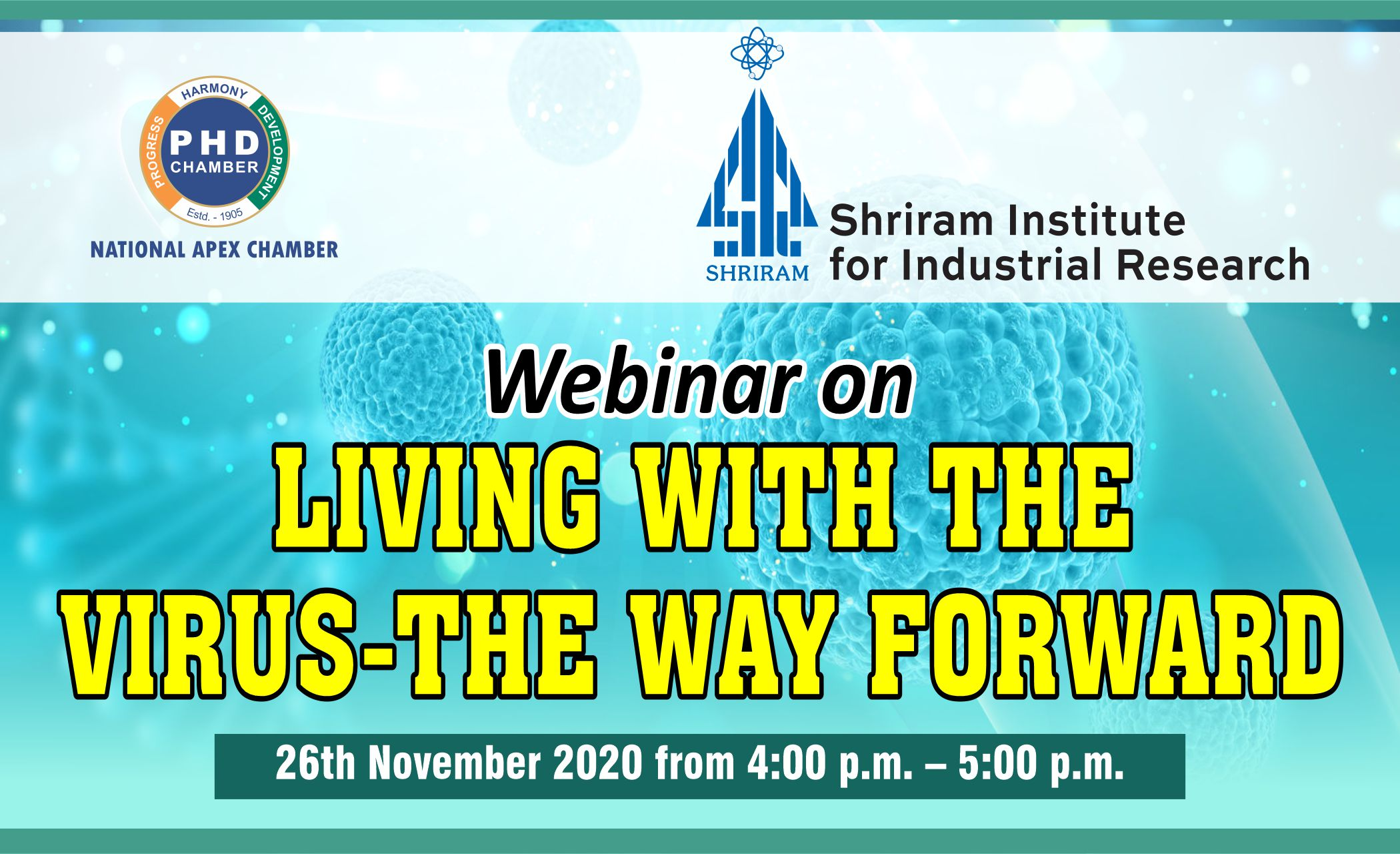 Webinar on Living with the Virus the Way Forward
